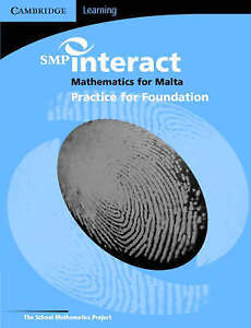 SMP Interact Mathematics for Malta: Foundation Practice Book  BOOK NEW