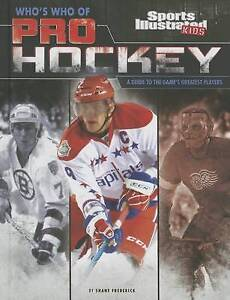 Who's Who Pro Hockey Guide Game S Greatest Players by Frederick Shane -Hcover