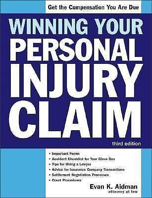 Winning Your Personal Injury Claim (Win Your Personal Injury Claim)-ExLibrary 1