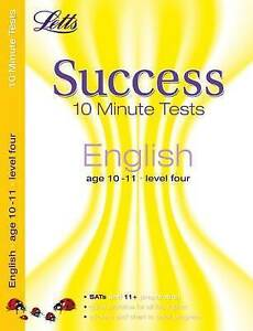 English Age 10-11: 10-Minute Tests by Letts Educational (Paperback, 2009)