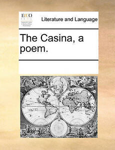 The Casina, a Poem. by Multiple Contributors -Paperback