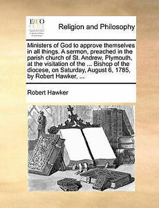 Ministers God Approve Themselves in All Things Sermon P by Hawker Robert