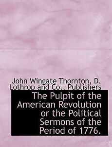 pages political sermons american revolution