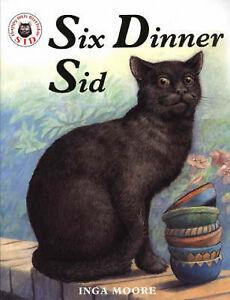 Six-Dinner-Sid-Inga-Moore-Very-Good-condition-Book