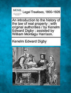 An introduction to the history of the law of real property: with original author