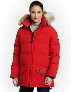 Canada Goose Women Solaris Parka Red
