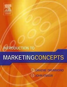 Introduction to Marketing Concepts-ExLibrary