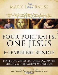 Four Portraits, One Jesus E-Learning Bundle: Textbook, Video Lectures, Laminated