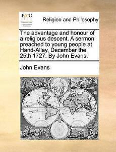 The-Advantage-and-Honour-of-a-Religious-Descent-a-Sermon-Preache-by-Evans-John