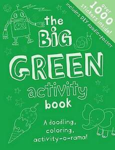 The Big Green Activity Book by Hamilton, Libby -Paperback
