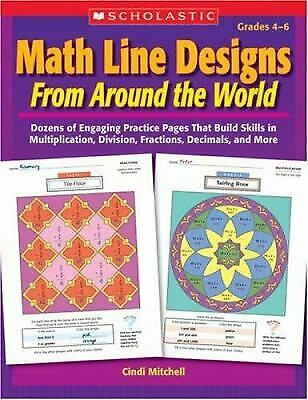 Math Line Designs from Around the World : Dozens of Engaging Practice