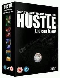 Hustle Complete BBC Series 1-4 DVD Marc Warren, Jaime Murray, Robert Glenister,
