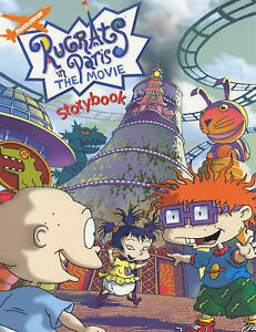 Rugrats-in-Paris-The-Movie-Storybook-Rugrats-ACCEPTABLE-Book