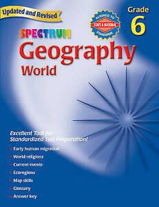 Spectrum-Geography-Grade-6-World-by-Spectrum-Paperback-softback
