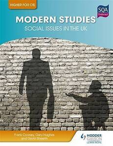 Higher Modern Studies for CfE: Social Issues in the UK by Frank Cooney, David...