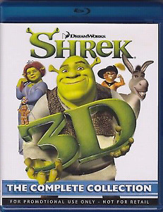 Shrek 3D: The Complete Collection (3D Blu-ray, 4-Disc set)