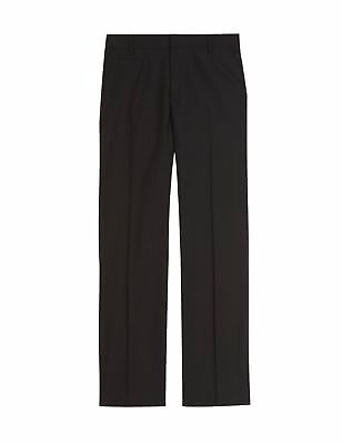 M&S Slim fit single breast black blazer, M&S adjustable waist plain black trousers , 13-15 yrs