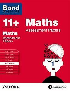 Bond 11+: Maths: Assessment Papers 8-9 Years by J. M. Bond 9780192740137