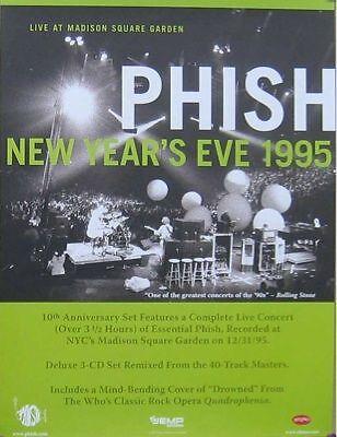 PHISH POSTER, NEW YEARS 1995 (P12)