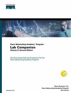 Networking-Academy-Program-Lab-Companion-Vol-II-by-Cisco-Press-Staff-Jim