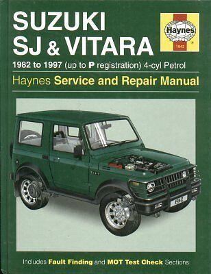 SUZUKI SJ410 SJ413 VITARA ( 1982 - 1997 ) SERVICE & REPAIR MANUAL