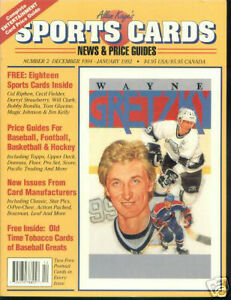 ALLAN KAY's Sports Card News & Price Guide - WAYNE GRETZKY cover