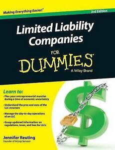 Limited-Liability-Companies-for-Dummies-by-Reuting-Jennifer-Paperback