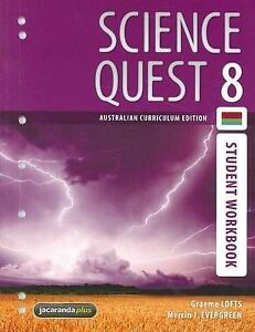 Science Quest 8 Australian Curriculum Edition Student Workbook '  Lofts