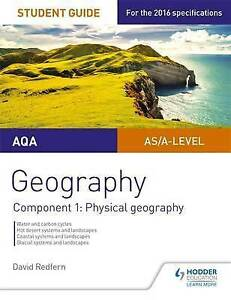 Redfern, David-Aqa As/A-Level Geography Student Guide: Component 1: Phy BOOK NEW