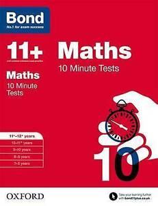 Lindsay, Sarah-Bond 11+: Maths: 10 Minute Tests  BOOK NEW