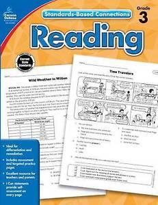 Reading, Grade 3 by Carson-Dellosa Publishing -Paperback