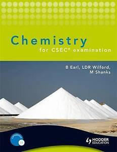 Chemistry for CSEC examination, Earl, Bryan, Wilford, Doug, Shanks, Michael, New