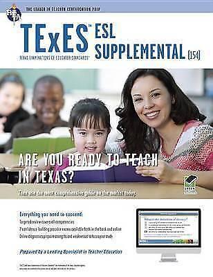 texes esl supplemental (154) book + online (texes teacher