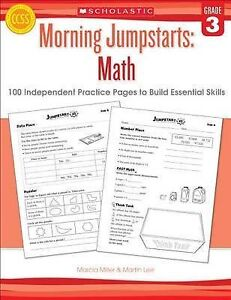 Morning Jumpstarts: Math (Grade 3): 100 Independent Practice Pages to Build...