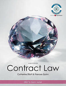 Contract Law by Catherine Elliott, Frances Quinn (Paperback, 2009)