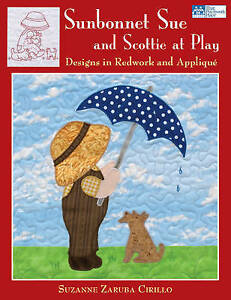Sunbonnet Sue and Scottie at Play (That Patchwork Place), Very Good Condition Bo