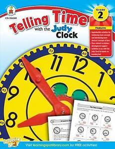 NEW Telling Time with the Judy® Clock, Grades 2 - 3