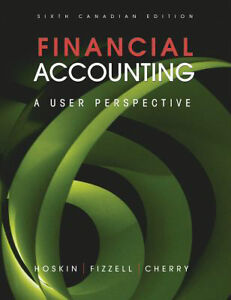 Dal COMM 1101 Financial Accounting Textbook
