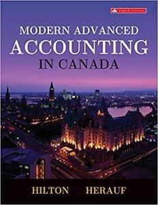 Modern Advanced Accounting in Canada 8th Edition (Paperback)