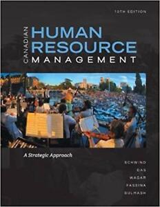 Canadian Human Resource Management with Connect Access Card A Strategic Approach 10th Edition