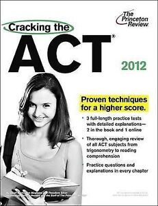 Cracking the ACT, 2012 Edition-ExLibrary