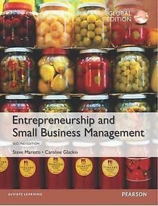 Entrepreneurship and Small Business Management by Caroline Glackin, Steve Mariot