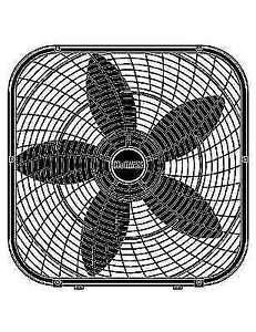 """Holmes 20"""" Box Fan HBF2002A - New, never used, in the box"""