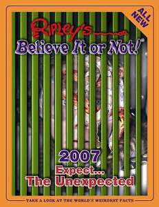 Ripley's Believe it or Not 2007, Ripley, Robert Le Roy, Very Good Book