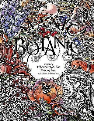 NEW Manic Botanic Zifflins Coloring Book By Zifflin