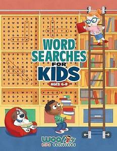Word Search for Kids Ages 6-8 Reproducible Worksheets for Classr by Woo! Jr Kids