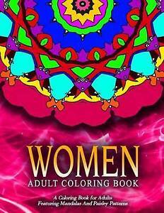 Women Adult Coloring Books - Vol11 Adult Coloring Books Best Se by Adult Colorin