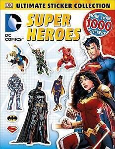 DC Comics Super Heroes by DK -Paperback