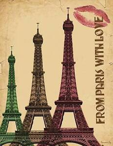 Password Log: Large Print - From Paris with Love by Writedrawdesign -Paperback