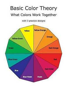 Basic Color Theory What Colors Work Together by Gilbert, C. R. -Paperback